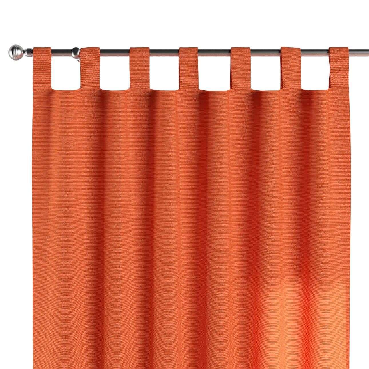 Gardin med hällor 1 längd 130 x 260 cm i kollektionen Jupiter, Tyg: 127-35