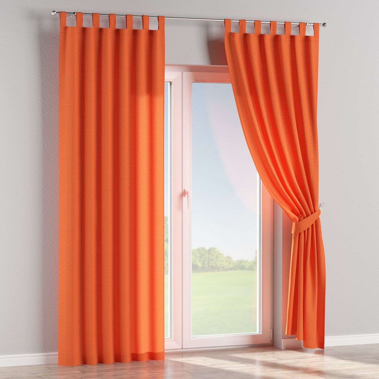 Tab top curtains in collection Jupiter, fabric: 127-35