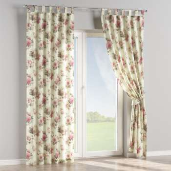 Tab top curtains 130 x 260 cm (51 x 102 inch) in collection Mirella, fabric: 141-07