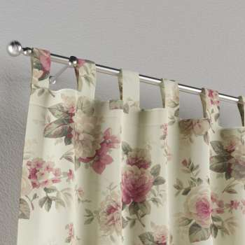 Tab top curtains 130 × 260 cm (51 × 102 inch) in collection Mirella, fabric: 141-07
