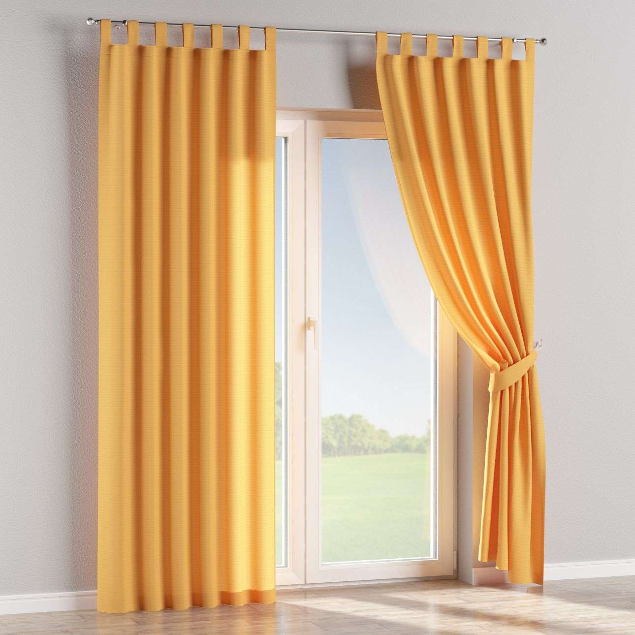 Tab top curtains in collection Jupiter, fabric: 127-46
