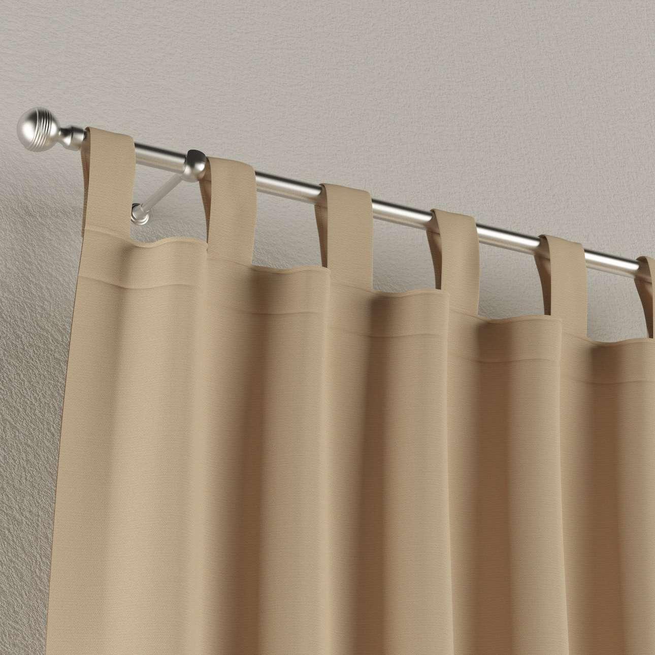 Záves na pútkach V kolekcii Cotton Panama, tkanina: 702-01