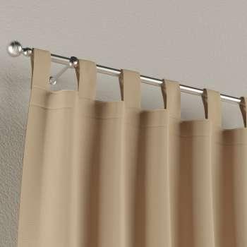 Zasłona na szelkach 1 szt. 1szt 130x260 cm w kolekcji Cotton Panama, tkanina: 702-01
