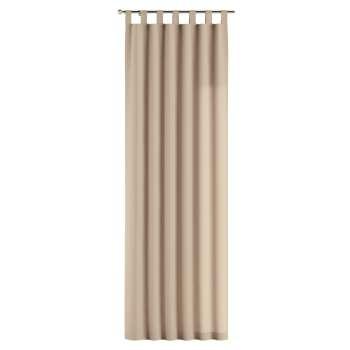 Gardin med stropper 1 stk. 130 × 260 cm fra kolleksjonen Cotton Panama, Stoffets bredde: 702-01
