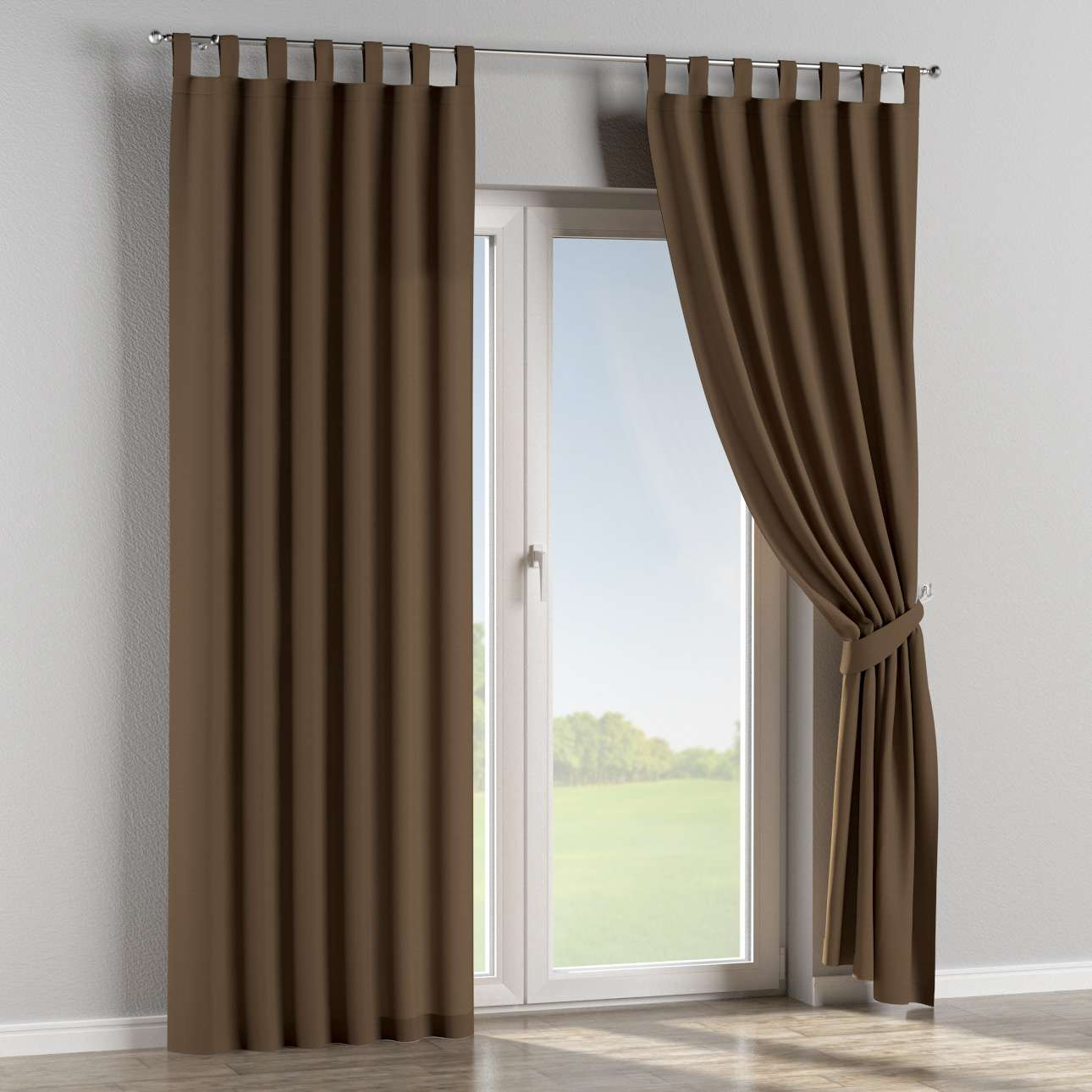 Tab top curtains 130 x 260 cm (51 x 102 inch) in collection Panama Cotton, fabric: 702-02