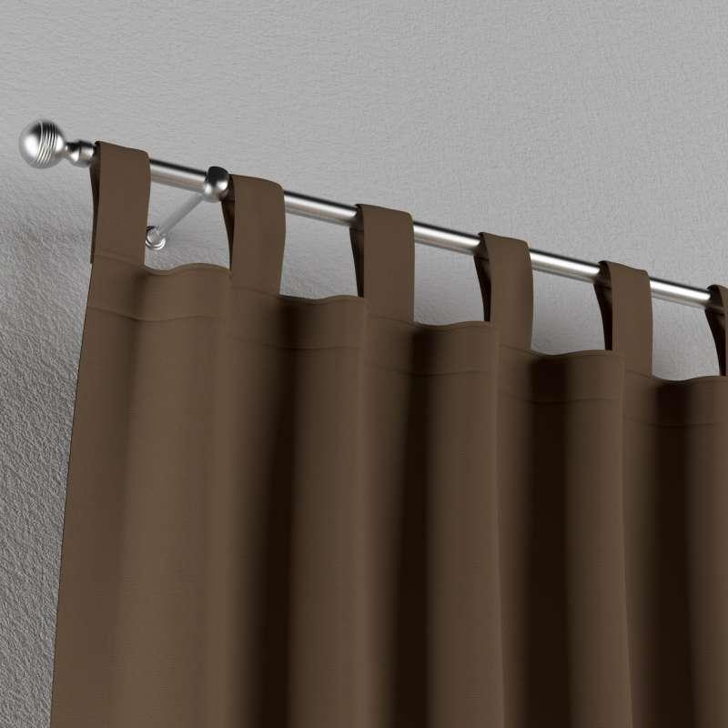 Zasłona na szelkach 1 szt. w kolekcji Cotton Panama, tkanina: 702-02
