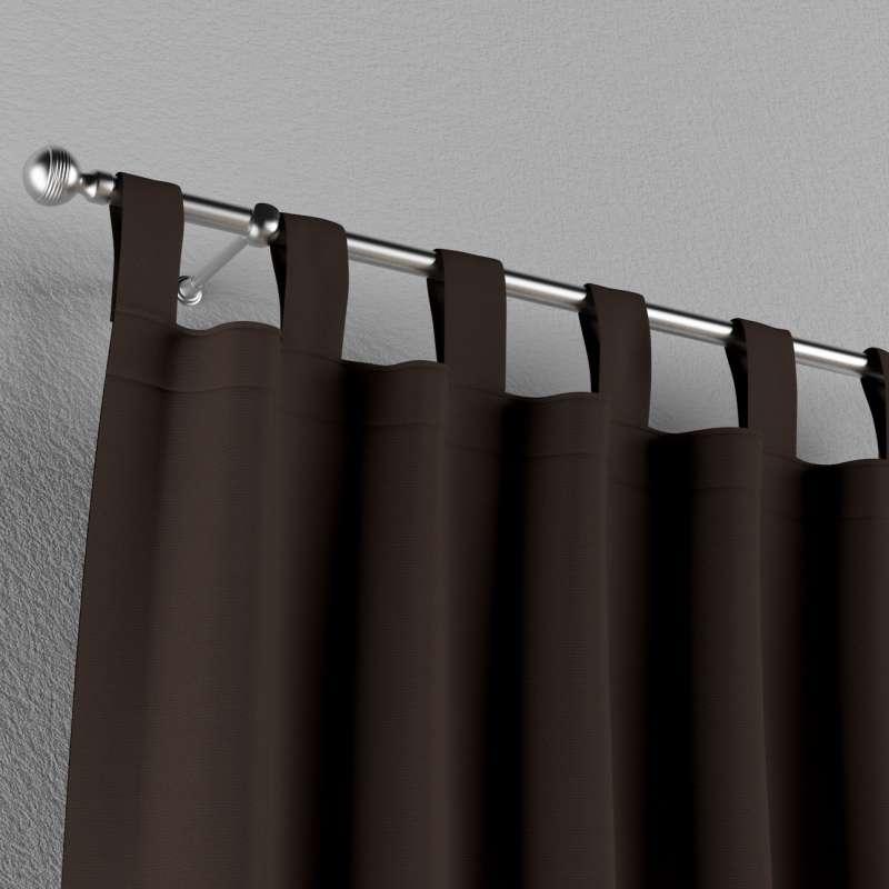 Zasłona na szelkach 1 szt. w kolekcji Cotton Panama, tkanina: 702-03