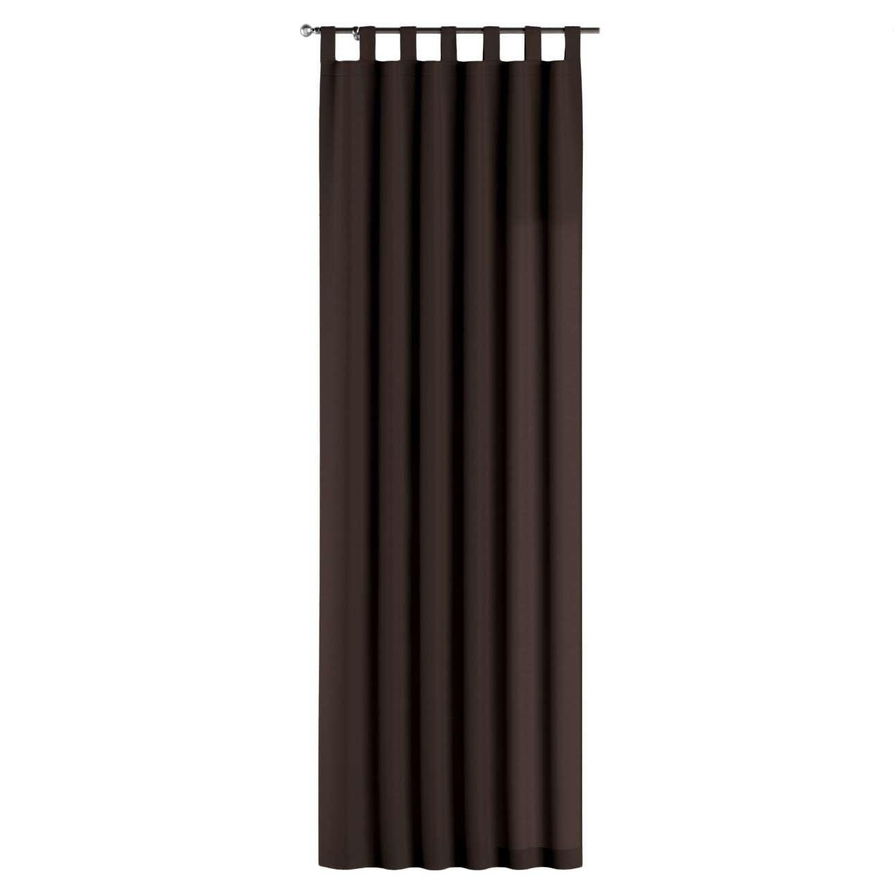 Gardin med stropper 1 stk. 130 × 260 cm fra kolleksjonen Cotton Panama, Stoffets bredde: 702-03