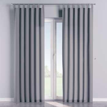 Gardin med stropper 1 stk. 130 × 260 cm fra kolleksjonen Cotton Panama, Stoffets bredde: 702-07