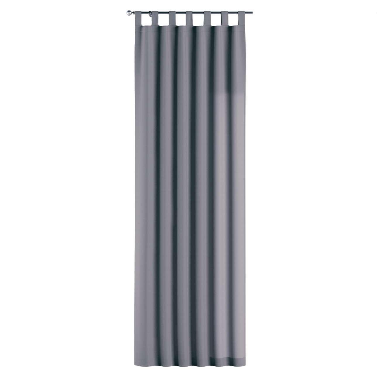 Gardin med hällor 1 längd 130 x 260 cm i kollektionen Panama Cotton , Tyg: 702-07