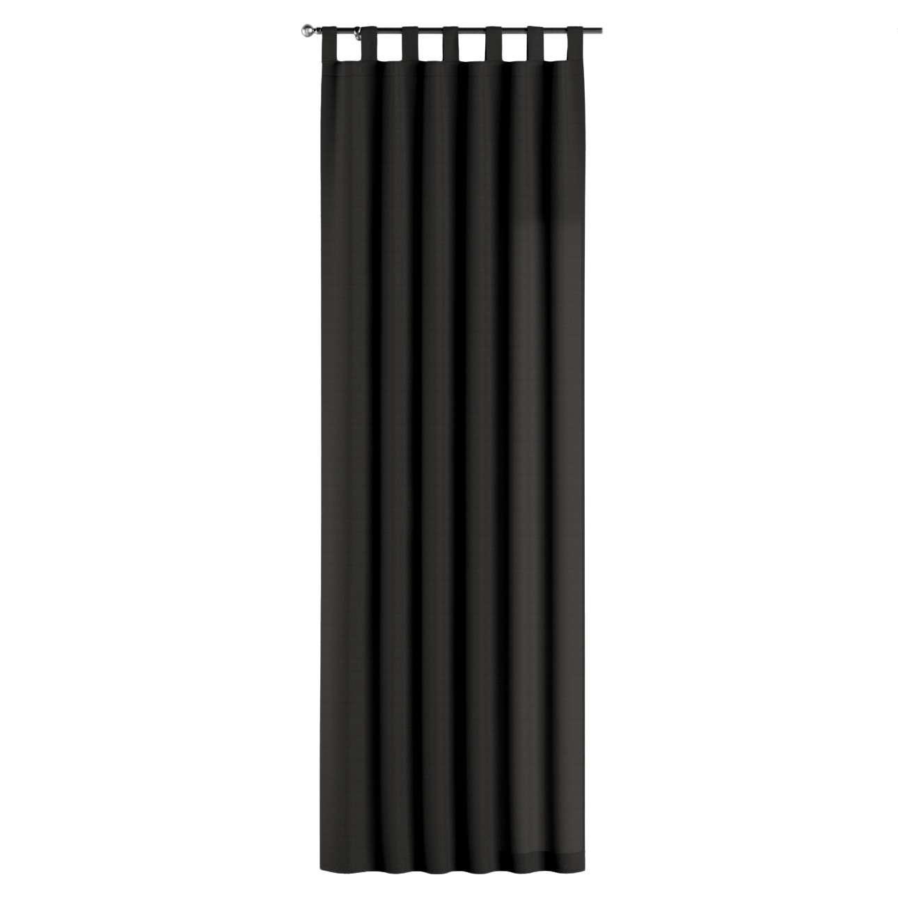 Gardin med hällor 1 längd 130 x 260 cm i kollektionen Panama Cotton , Tyg: 702-08