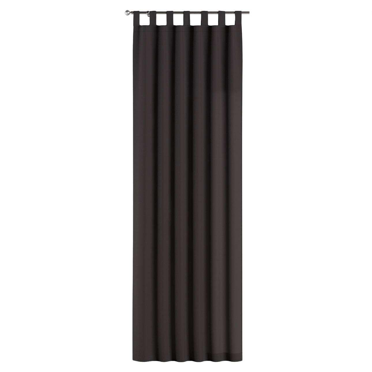 Gardin med stropper 1 stk. 130 × 260 cm fra kolleksjonen Cotton Panama, Stoffets bredde: 702-09