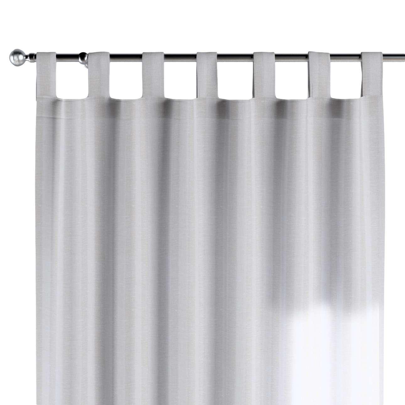 Gardin med stropper 1 stk. 130 × 260 cm fra kolleksjonen Linen, Stoffets bredde: 392-03