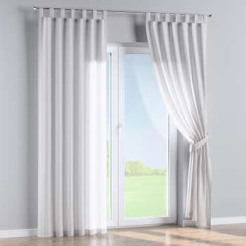 Tab top curtains in collection Linen, fabric: 392-03