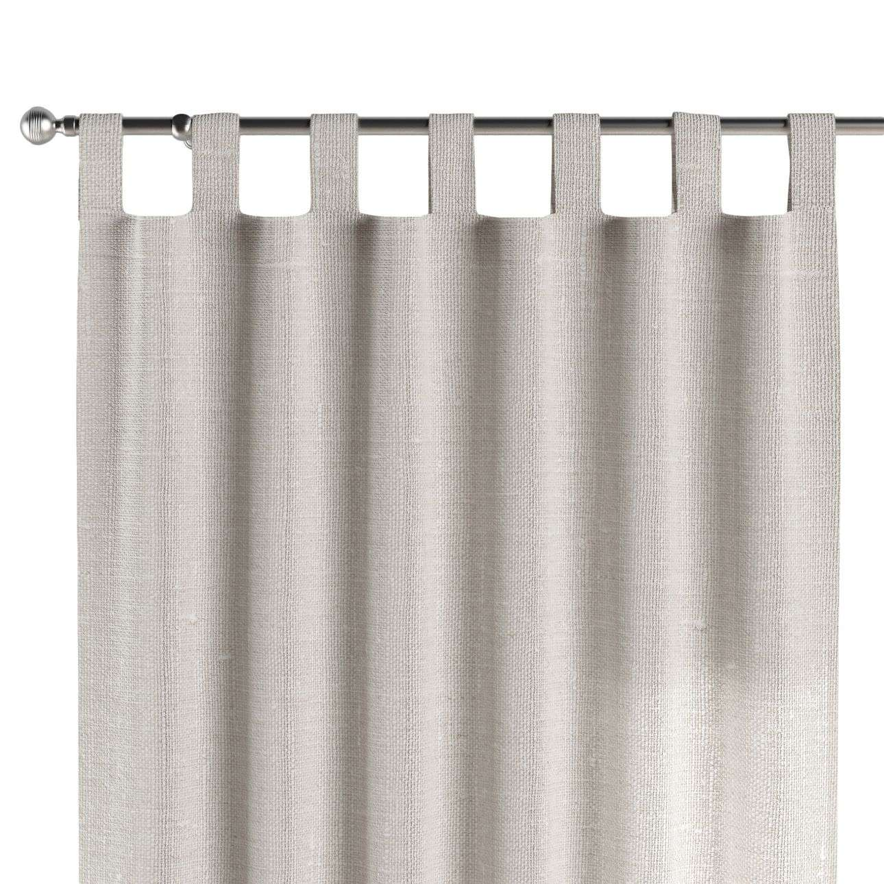 Tab top curtains 130 x 260 cm (51 x 102 inch) in collection Linen, fabric: 392-04
