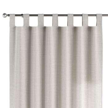 Gardin med hällor 1 längd 130 x 260 cm i kollektionen Linne, Tyg: 392-04