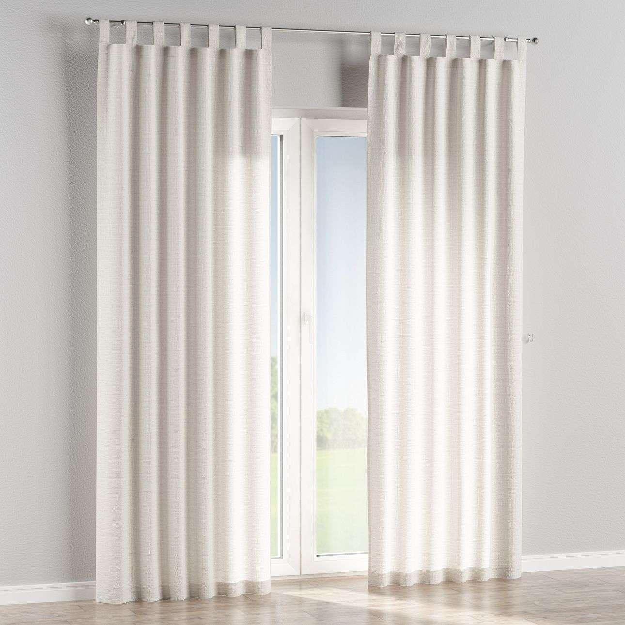 Záves na pútkach V kolekcii Linen, tkanina: 392-04