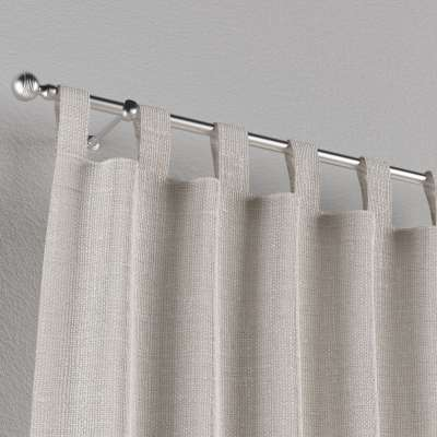 Zasłona na szelkach 1 szt. w kolekcji Linen, tkanina: 392-04