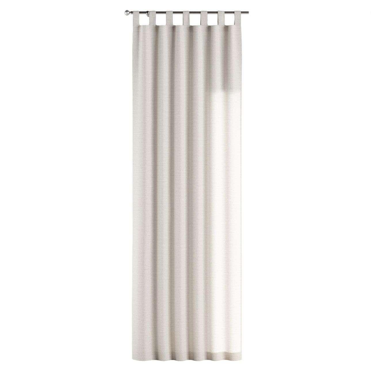 Gardin med stropper 130 x 260 cm fra kollektionen Linen, Stof: 392-04