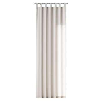 Gardin med stropper 1 stk. 130 x 260 cm fra kolleksjonen Linen, Stoffets bredde: 392-04