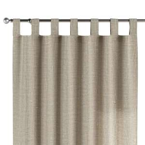 Kilpinio klostavimo užuolaidos 130 x 260 cm (plotis x ilgis) kolekcijoje Linen , audinys: 392-05