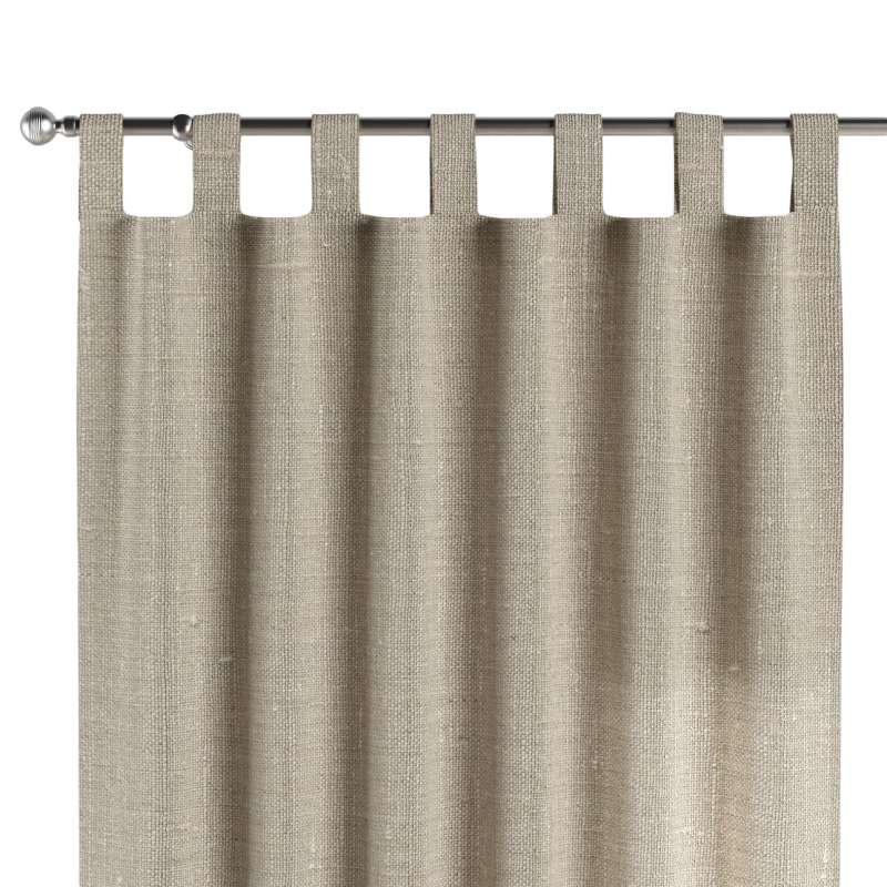 Záves na pútkach V kolekcii Linen, tkanina: 392-05