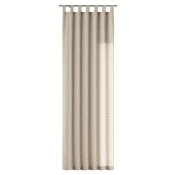 Gardin med hällor 1 längd i kollektionen Linne, Tyg: 392-05
