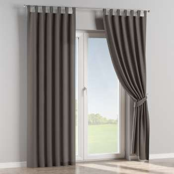 Tab top curtains 130 x 260 cm (51 x 102 inch) in collection Edinburgh, fabric: 115-77