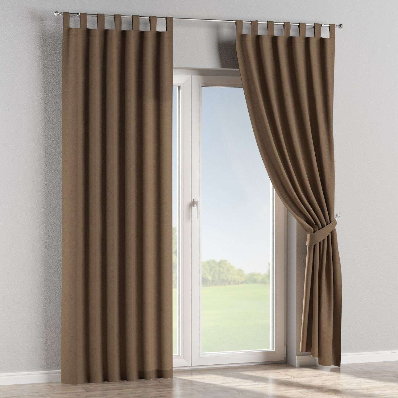 Tab top curtains in collection Edinburgh, fabric: 115-85
