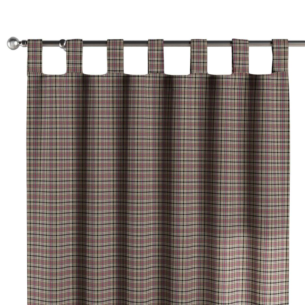 Tab top curtains in collection Bristol, fabric: 126-32
