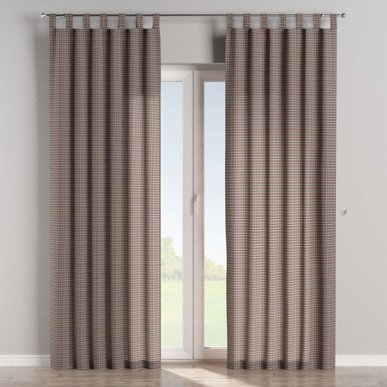 Tab top curtains 130 x 260 cm (51 x 102 inch) in collection Bristol, fabric: 126-32