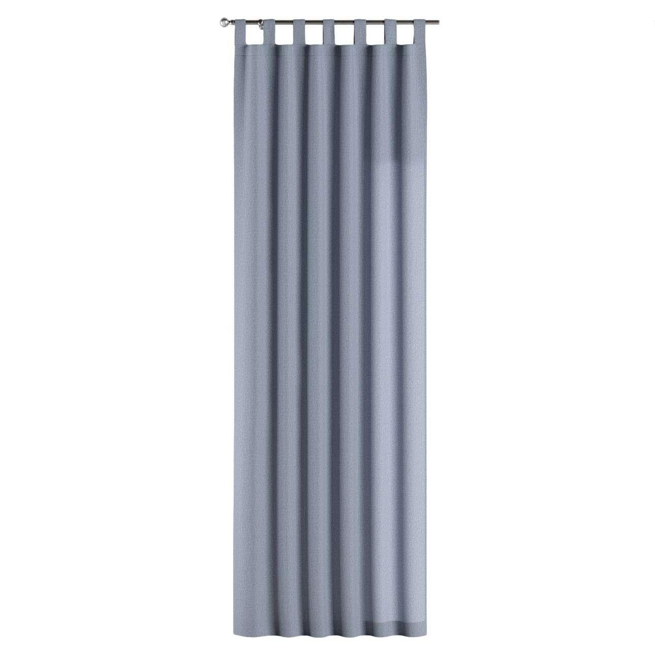 Gardin med stropper 1 stk. 130 × 260 cm fra kolleksjonen Chenille, Stoffets bredde: 702-13