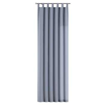 Gardin med hällor 1 längd 130 x 260 cm i kollektionen Chenille, Tyg: 702-13