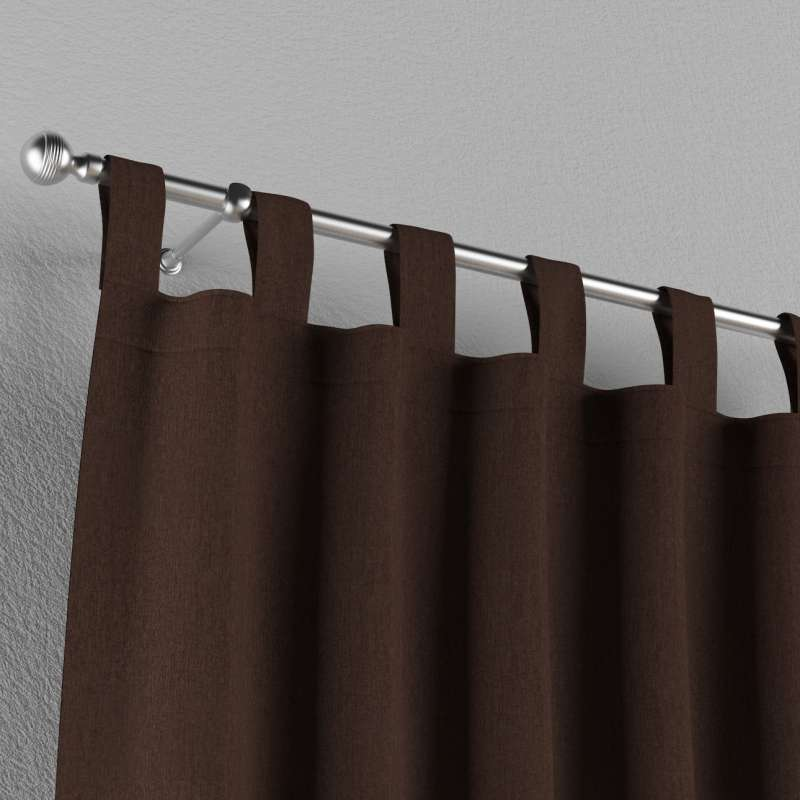 Záves na pútkach V kolekcii Chenille, tkanina: 702-18