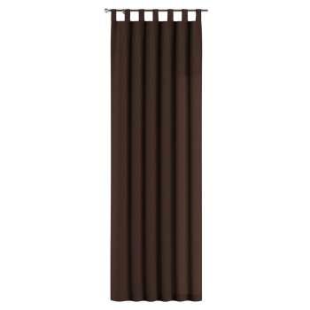Gardin med hällor 1 längd 130 x 260 cm i kollektionen Chenille, Tyg: 702-18
