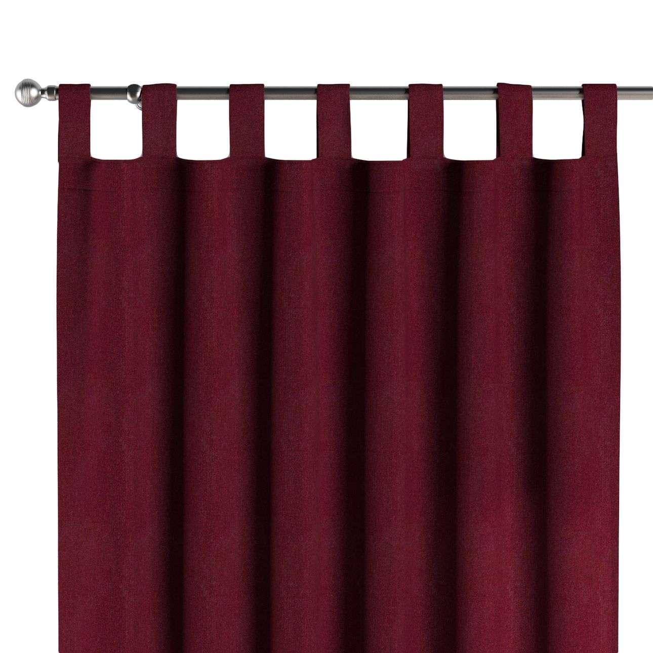 Gardin med hällor 1 längd 130 x 260 cm i kollektionen Chenille, Tyg: 702-19
