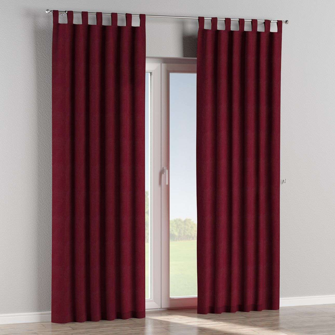 Tab top curtains in collection Chenille, fabric: 702-19