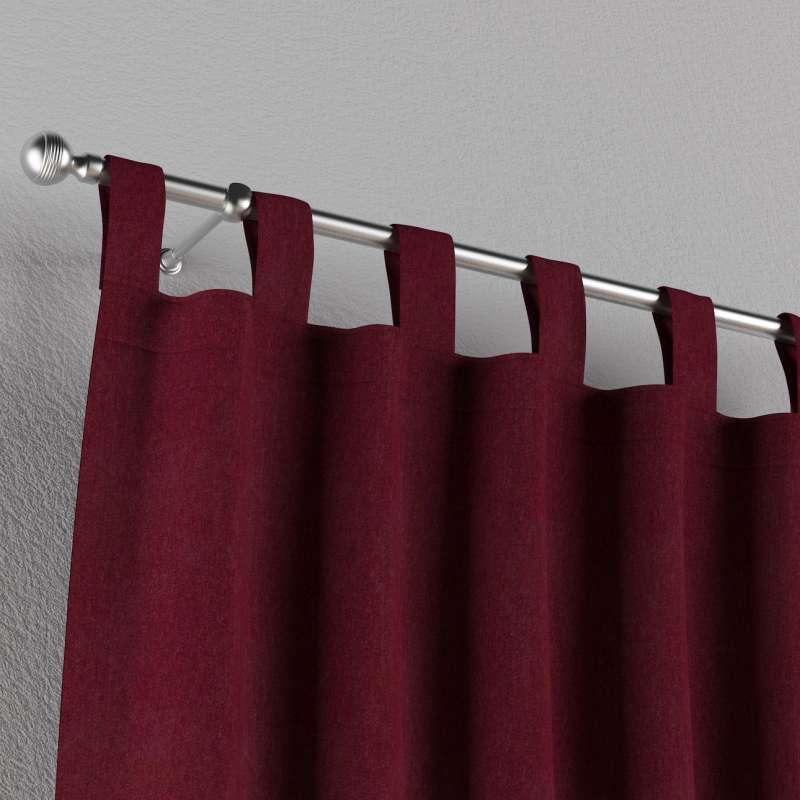 Záves na pútkach V kolekcii Chenille, tkanina: 702-19
