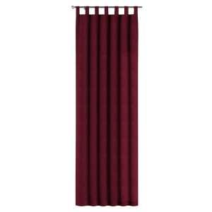 Gardin med hällor 1 längd 130 x 260 cm i kollektionen Chenille , Tyg: 702-19