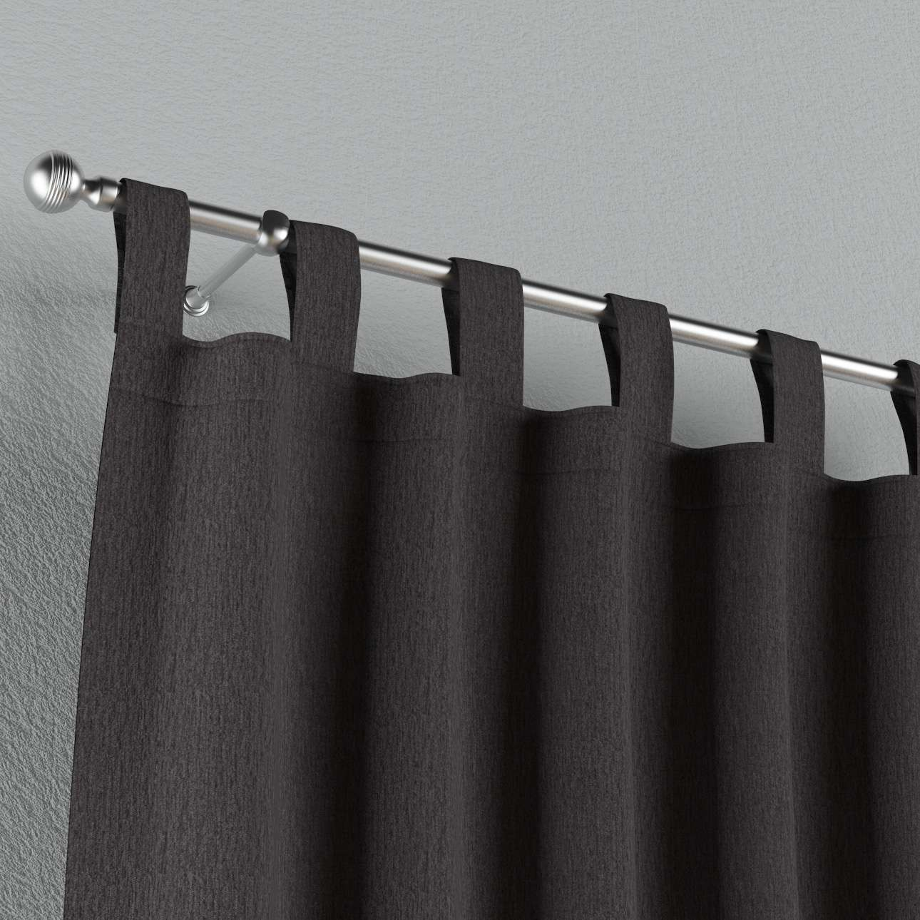 Gardin med stropper 1 stk. fra kolleksjonen Chenille, Stoffets bredde: 702-20