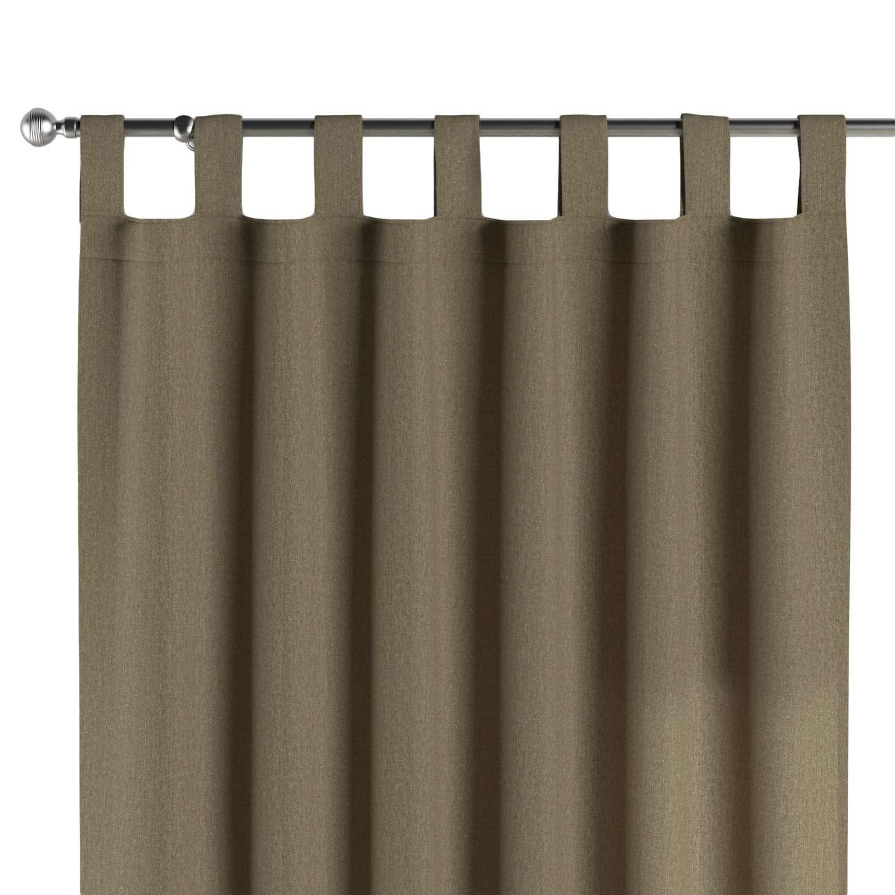 Gardin med hällor 1 längd 130 x 260 cm i kollektionen Chenille , Tyg: 702-21
