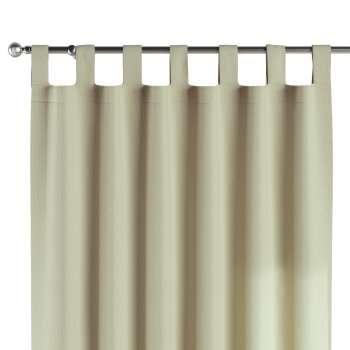 Gardin med hällor 1 längd i kollektionen Chenille, Tyg: 702-22