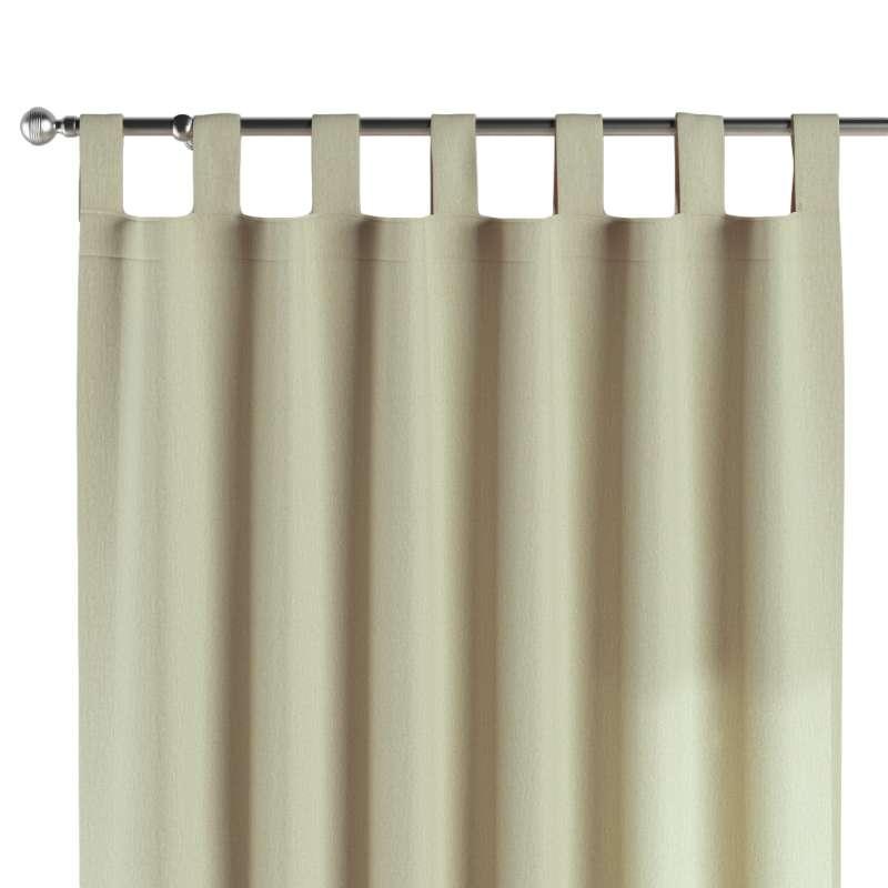 Gardin med stropper 1 stk. fra kollektionen Chenille, Stof: 702-22