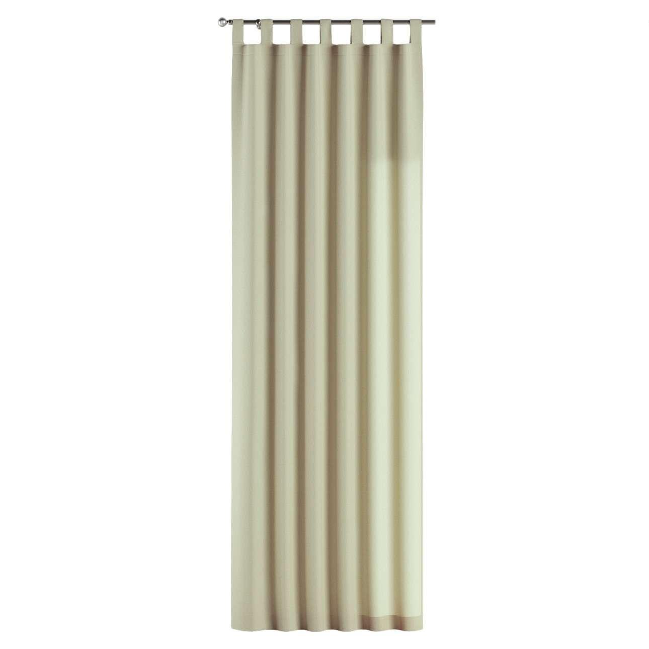 Gardin med stropper 130 x 260 cm fra kollektionen Chenille, Stof: 702-22