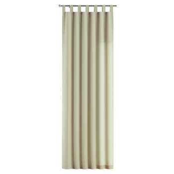 Gardin med hällor 1 längd 130 x 260 cm i kollektionen Chenille, Tyg: 702-22