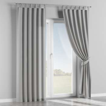 Tab top curtains 130 x 260 cm (51 x 102 inch) in collection Chenille, fabric: 702-23