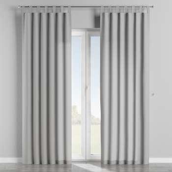 Gardin med hällor 1 längd 130 x 260 cm i kollektionen Chenille, Tyg: 702-23
