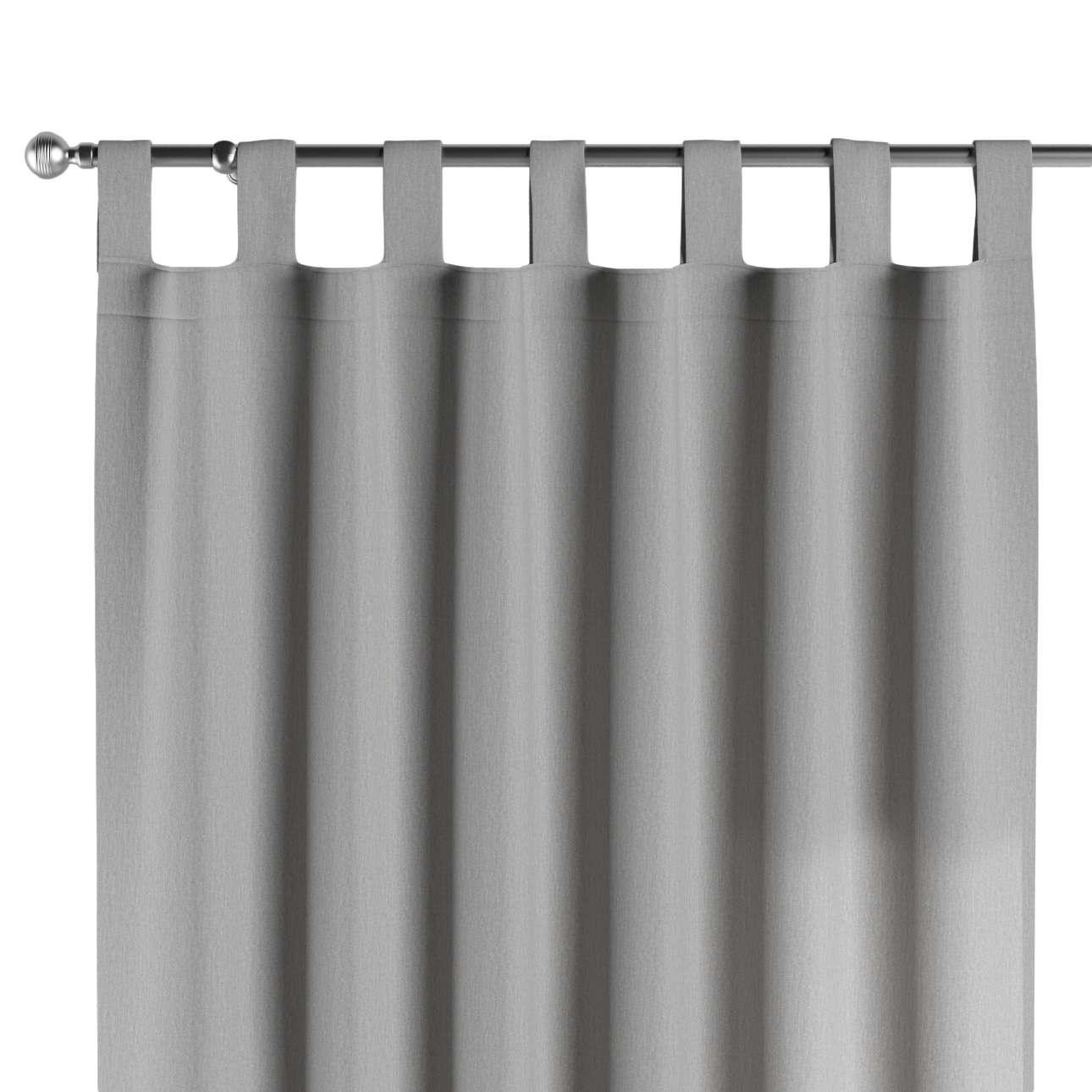 Gardin med stropper 1 stk. 130 × 260 cm fra kolleksjonen Chenille, Stoffets bredde: 702-23