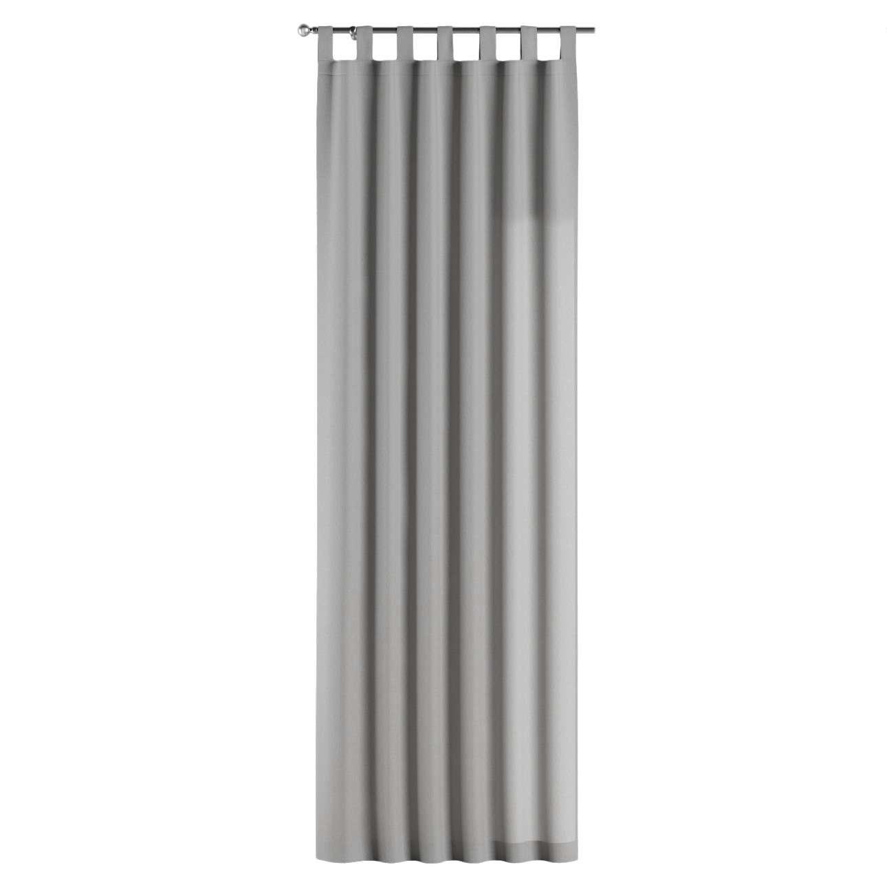Zasłona na szelkach 1 szt. 1szt 130x260 cm w kolekcji Chenille, tkanina: 702-23