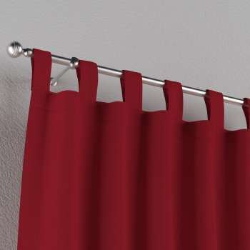 Tab top curtains 130 x 260 cm (51 x 102 inch) in collection Chenille, fabric: 702-24